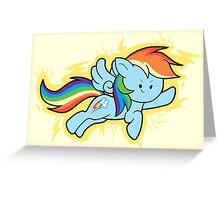 Chibi Rainbow Dash Greeting Card
