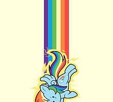 Chibi Rainbow Dash by LovelyKouga