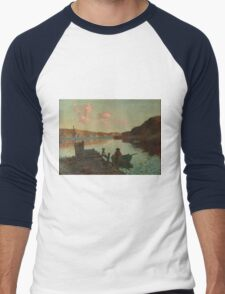 Evans Bay - James M. Nairn Men's Baseball ¾ T-Shirt
