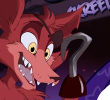 Foxy-o's Sticker