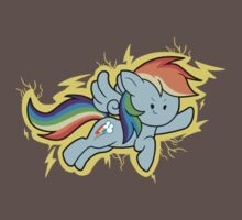 Chibi Rainbow Dash One Piece - Short Sleeve