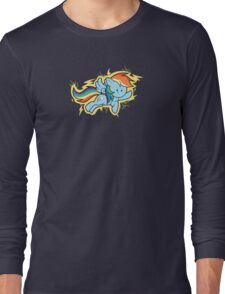 Chibi Rainbow Dash Long Sleeve T-Shirt