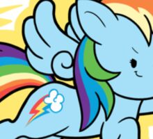Chibi Rainbow Dash Sticker