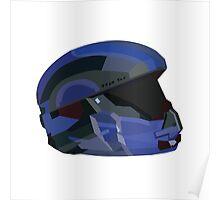 Halo 5 Recruit Helmet Poster