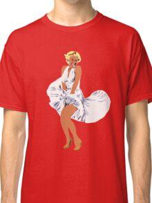 that marilyn pose Classic T-Shirt