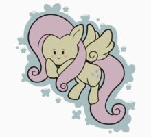 Chibi Fluttershy One Piece - Long Sleeve