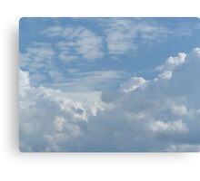 Cloud Valley Canvas Print