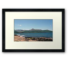 Brodick Bay Framed Print