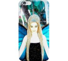 butterfly fairy at night iPhone Case/Skin