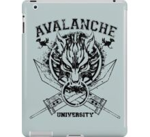Avalanche University FVII v2 iPad Case/Skin