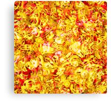 Red-Gold Canvas Print