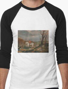 The Suffolk Hunt - John Frederick Men's Baseball ¾ T-Shirt