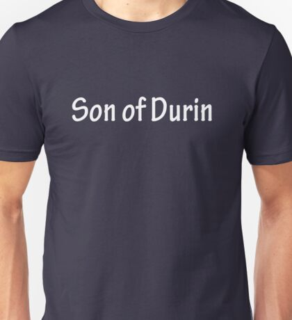 Sons of Durin - White Unisex T-Shirt