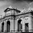 The Puerta de Alcalá by zinchik
