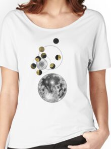 Phases of the Moon Women's Relaxed Fit T-Shirt