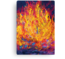 Fire and Passion - Here's to New Beginnings Canvas Print