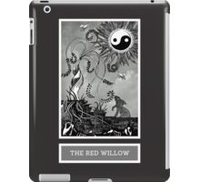 Shadow Season: THE RED WILLOW iPad Case/Skin