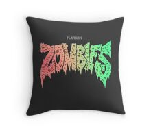 Flatbush Zombies Throw Pillow