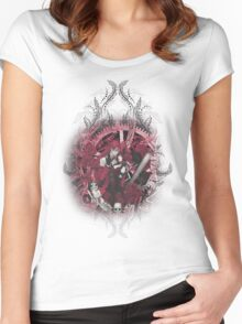 Kuroshitsuji (Black Butler) - Grell Sutcliff and Madame Red Women's Fitted Scoop T-Shirt