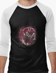 Kuroshitsuji (Black Butler) - Grell Sutcliff and Madame Red Men's Baseball ¾ T-Shirt