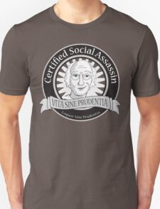 Certified Social Assassin Unisex T-Shirt