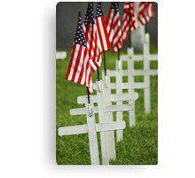 Memorial Day - Remember the Fallen Canvas Print