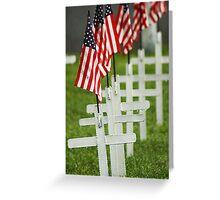 Memorial Day - Remember the Fallen Greeting Card