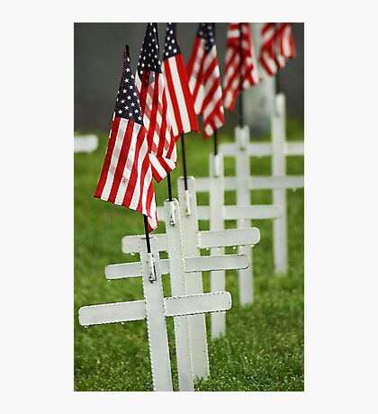 Memorial Day - Remember the Fallen Photographic Print