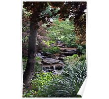 Garden falls Poster