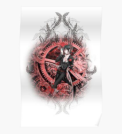 Kuroshitsuji (Black Butler) - Sebastian Michaelis Poster