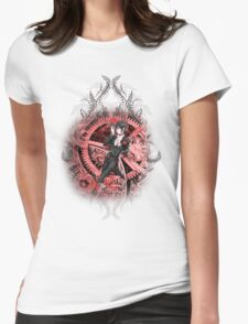 Kuroshitsuji (Black Butler) - Sebastian Michaelis Womens Fitted T-Shirt