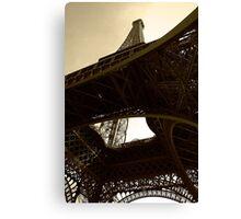 Iron tower Canvas Print