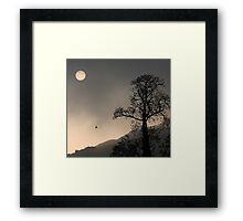 Sunrise Haiku Framed Print