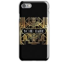 Personalized Great Gatsby iPhone Case/Skin