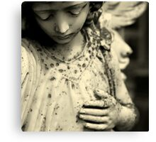 I saw the daughter of the sun Canvas Print