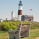 montauk lighthouse by Geri Bragg