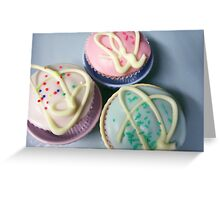 Birthday Cupcakes Greeting Card