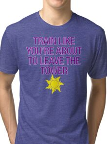 Tangled Tower Work Out Tri-blend T-Shirt