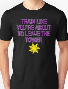 Tangled Tower Work Out Unisex T-Shirt