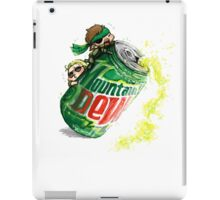 Snake & Miller on a... mountain dew. iPad Case/Skin