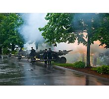 21 Guns in Honor Photographic Print