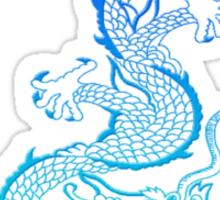blues dragon Sticker