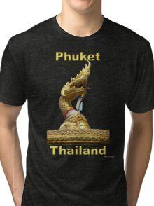 Serpent Head Tri-blend T-Shirt