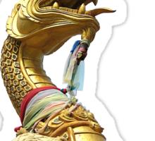 Serpent Head Sticker