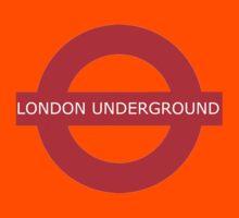 london underground sign Kids Tee