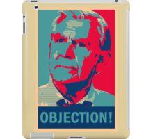 Ben Matlock OBJECTION! iPad Case/Skin