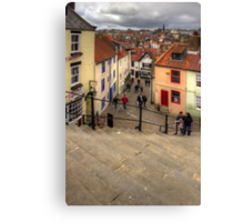 View from the Whitby Steps Canvas Print