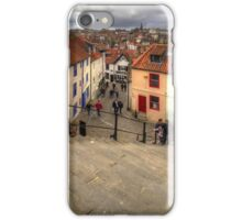 View from the Whitby Steps iPhone Case/Skin