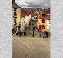 View from the Whitby Steps Unisex T-Shirt