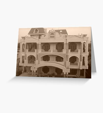 A Haunted Mansion.....!!! Greeting Card
